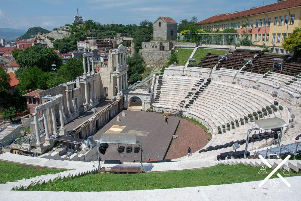 Teatro Romano Plovdiv