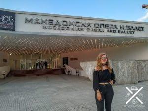 Teatro del Ballet Nacional de Skopje