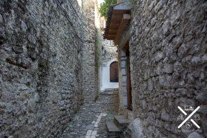 Calles empedradas de Berat