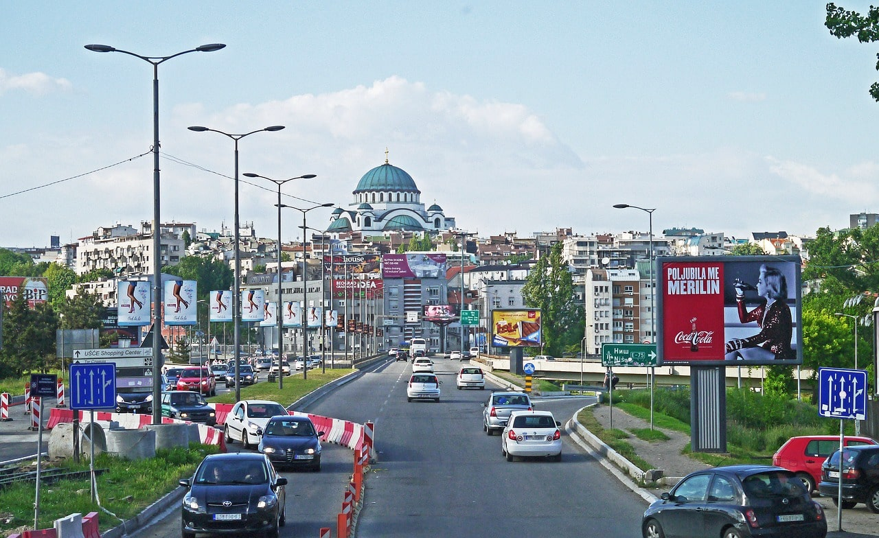 Carreteras de Belgrado