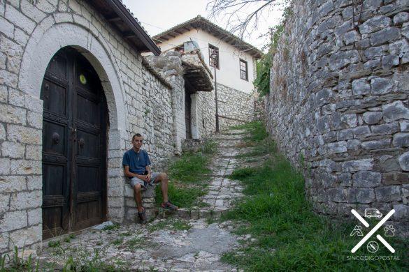 Casco viejo dentro del Castillo de Berat
