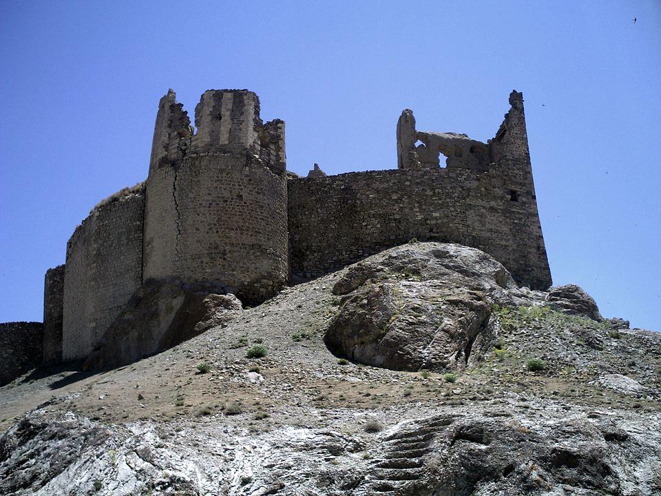 Castillo de Hosap en Lago Van