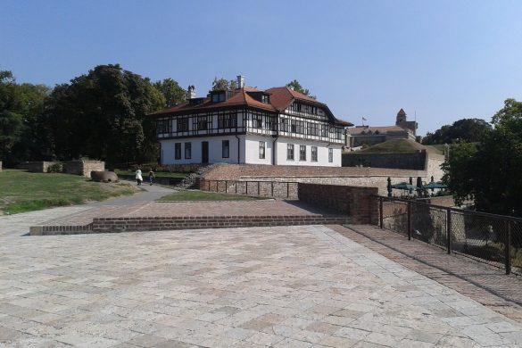 Construcciones dentro de la Fortaleza Kalemegdan