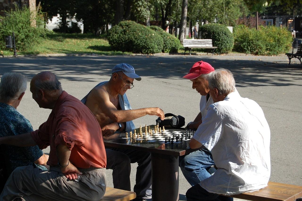 El ajedrez, juego famoso por todos los Balcanes