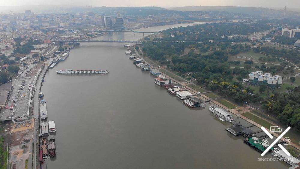 El gran río Danubio