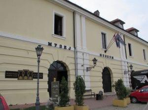 Entrada al Museo de la Ciudad de Novi Sad