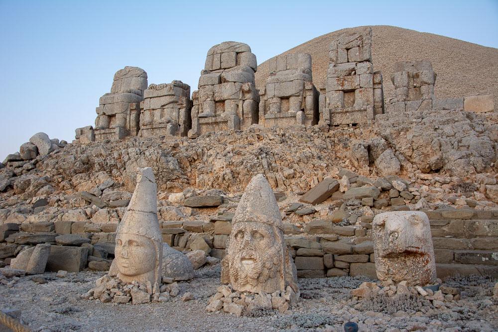 Guardaespaldas del Rey Antíoco en el Monte Nemrut