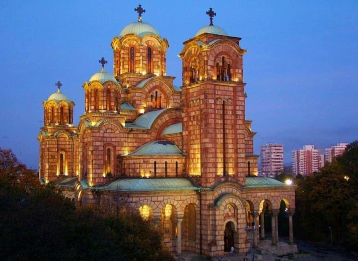 Iglesia de San Marcos en Belgrado