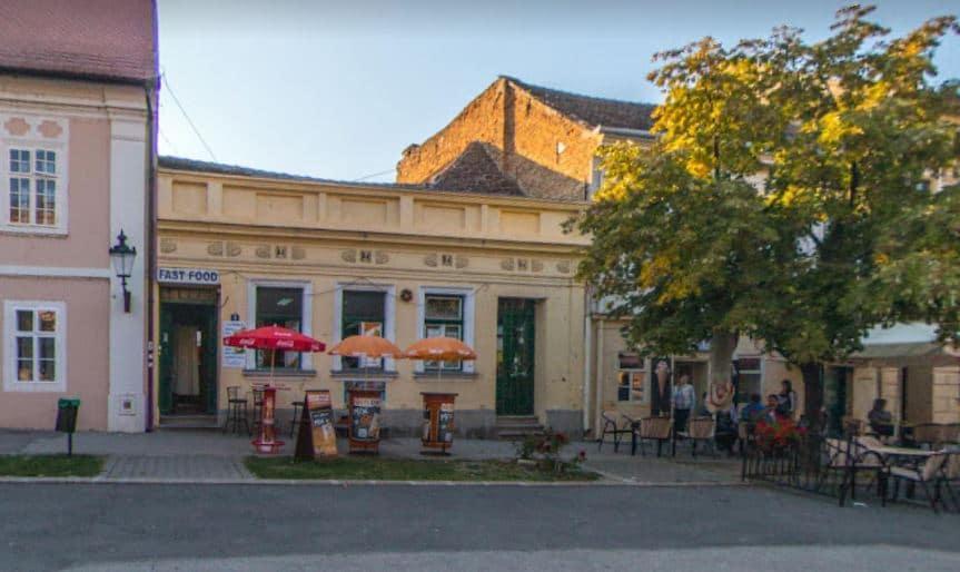 Lugar para comer en Sremski Karlovci