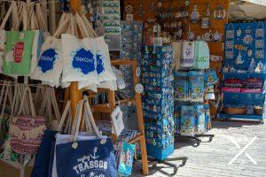 Mercado precioso en Tasos