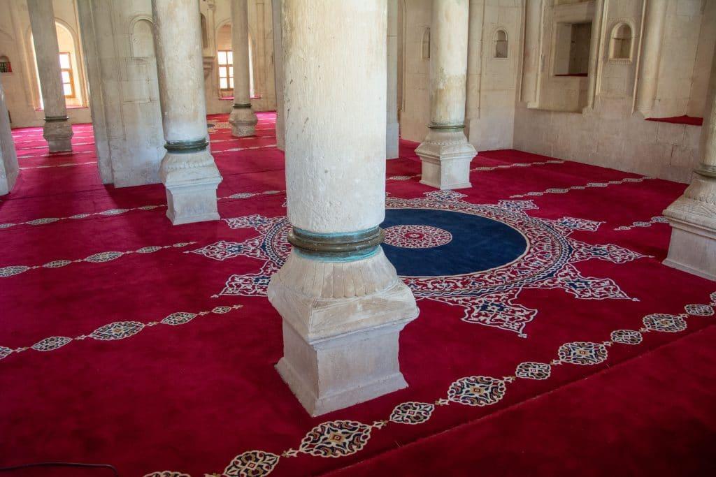 Mezquita particular dentro del Palacio de Ishak Pachá