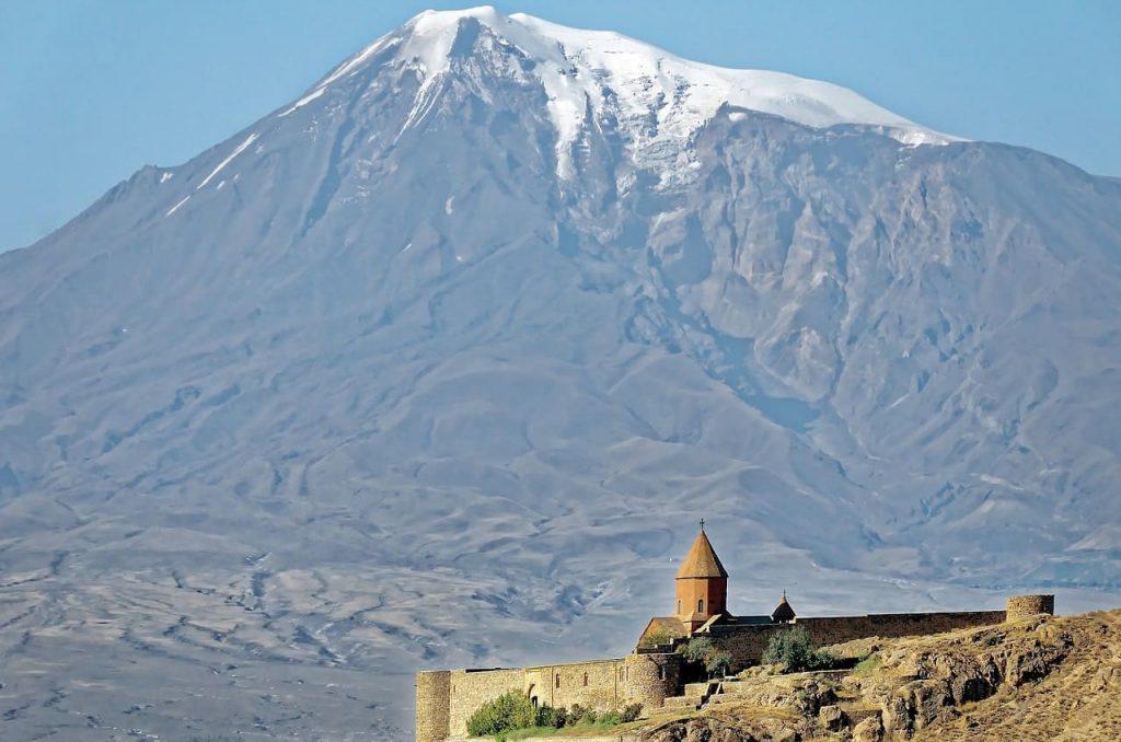 Monte Ararat en Agri