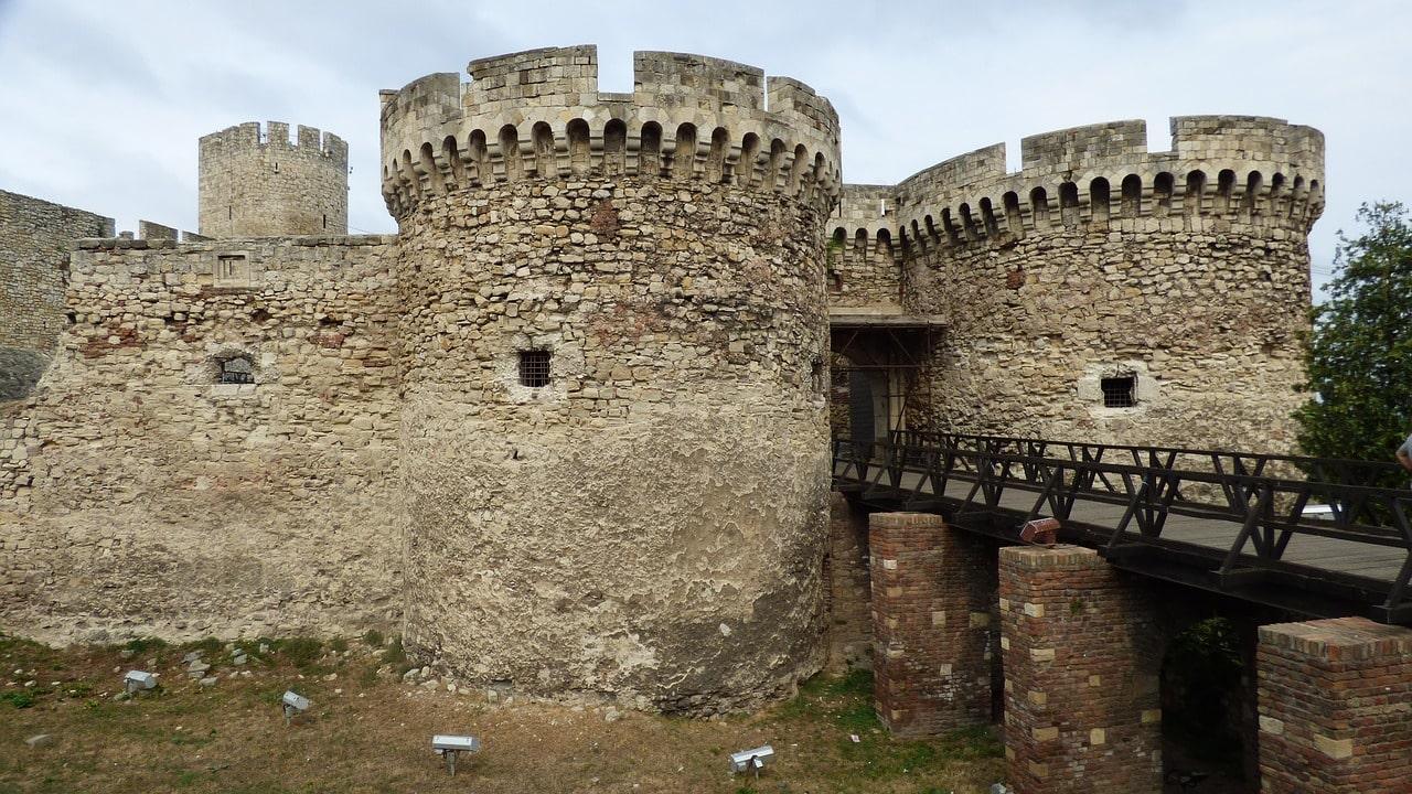Murallas preciosas y que aún perduran de la Fortaleza Kalemegdan