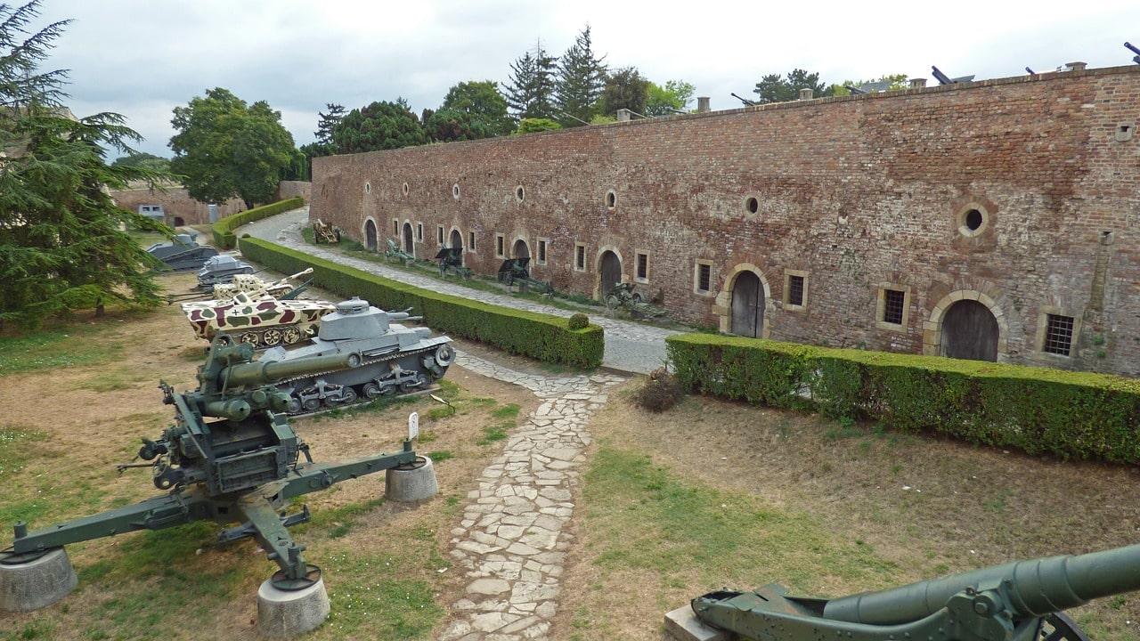 Museo militar dentro de la Fortaleza Kalemegdan