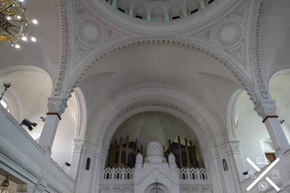 Órgano de la Sinagoga de Novi Sad