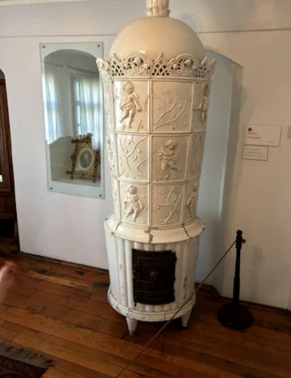 Obras de arte dentro del Palacio de la Pricesa Ljubica