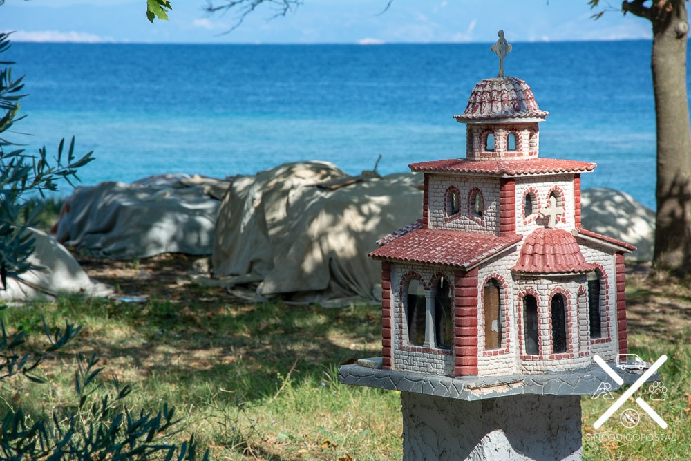 Pequeñas iglesias ortodoxas por toda la Isla de Tasos