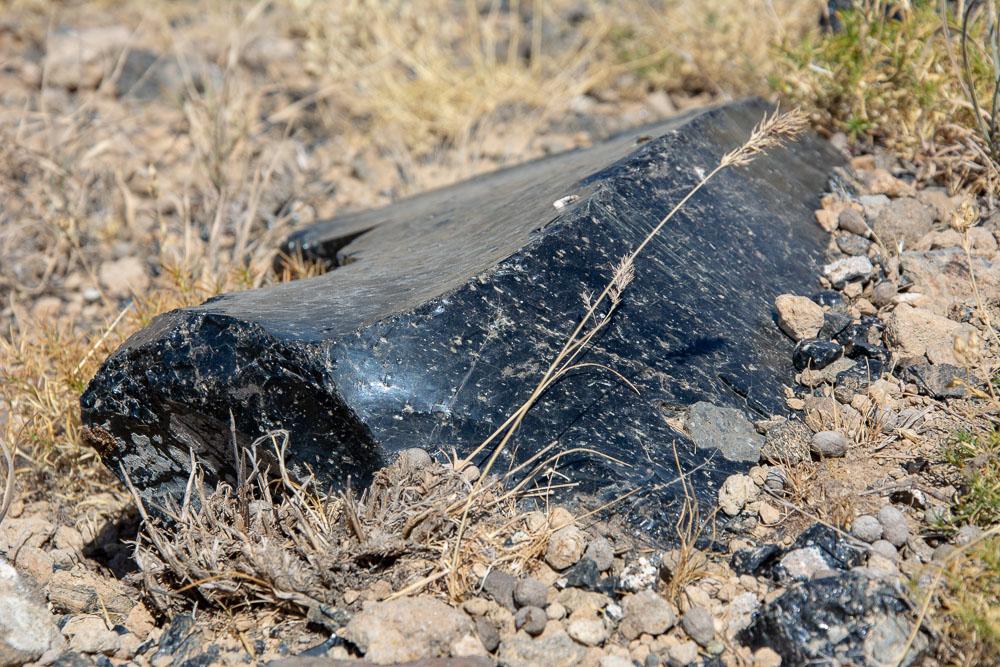 Piedra del magma del Volcán