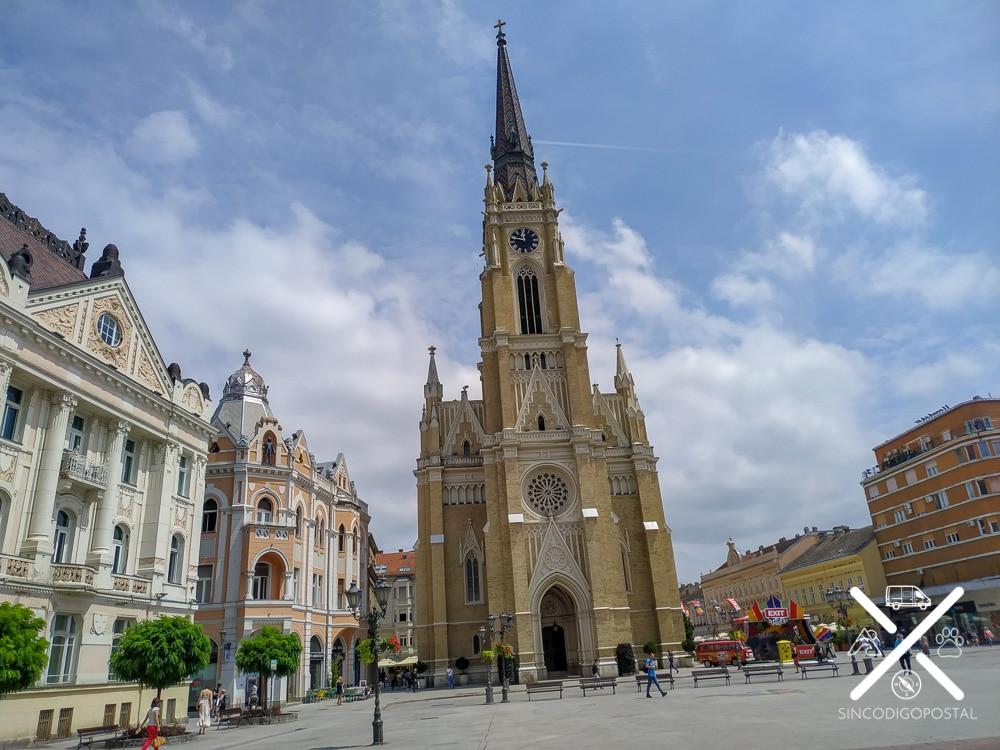 Plaza de la Libertad en Novi Sad
