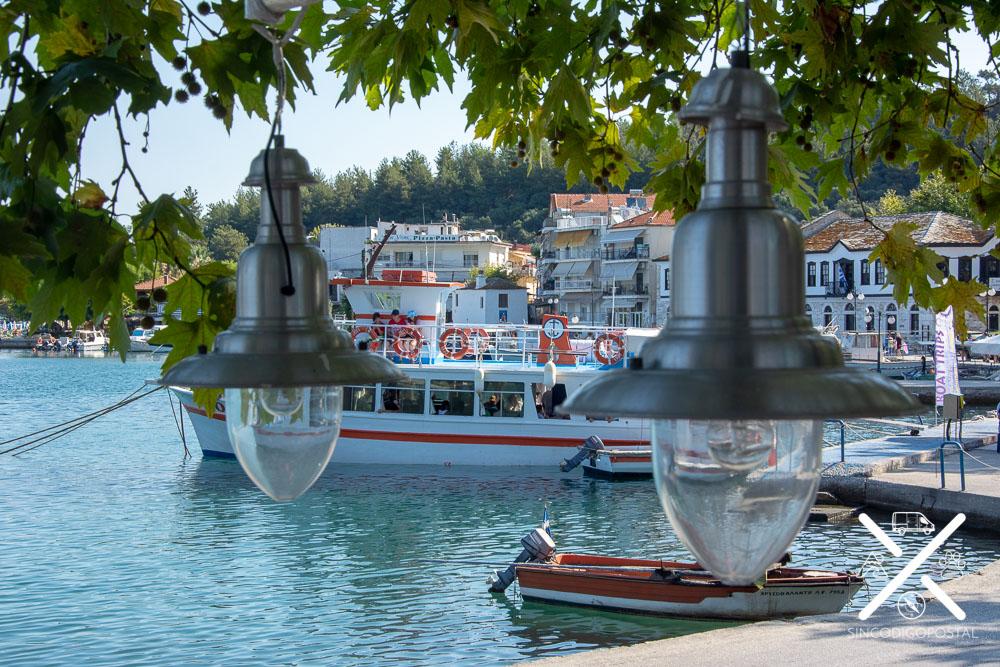 Puerto de la ciudad de Tasos
