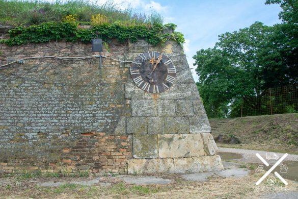 Reloj escondido en Fortaleza Petrovaradin