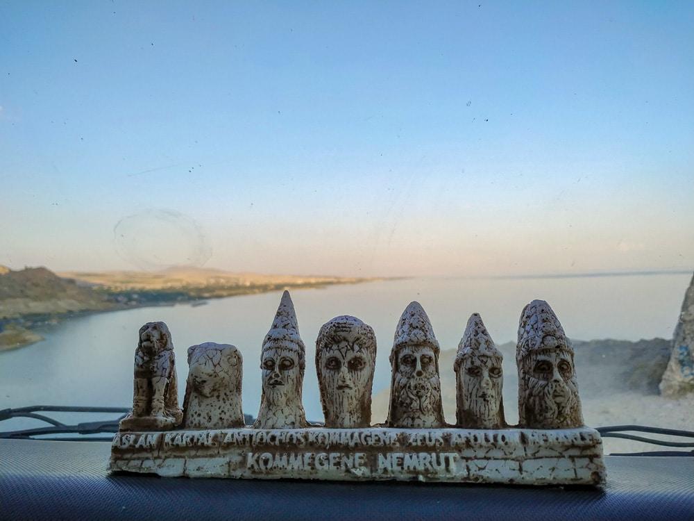 Souvenirs de las figuras del Monte Nemrut