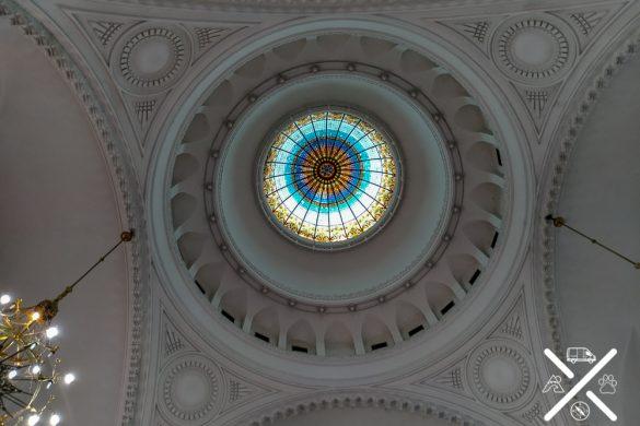 Techo de la Sinagoga de Novi Sad