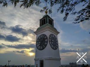 Torre del Reloj en Fortaleza Petrovaradin