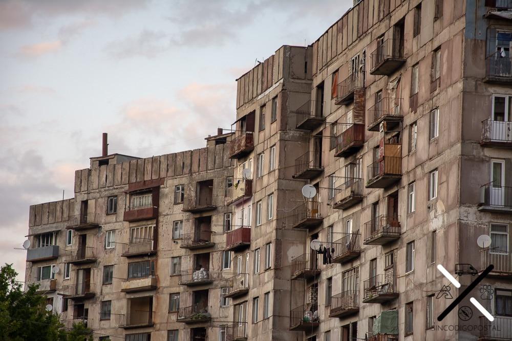 Edificios estancados en el tiempo