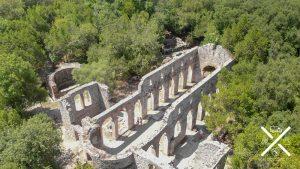 Basílica de Butrinto, un lugar magico para descansar