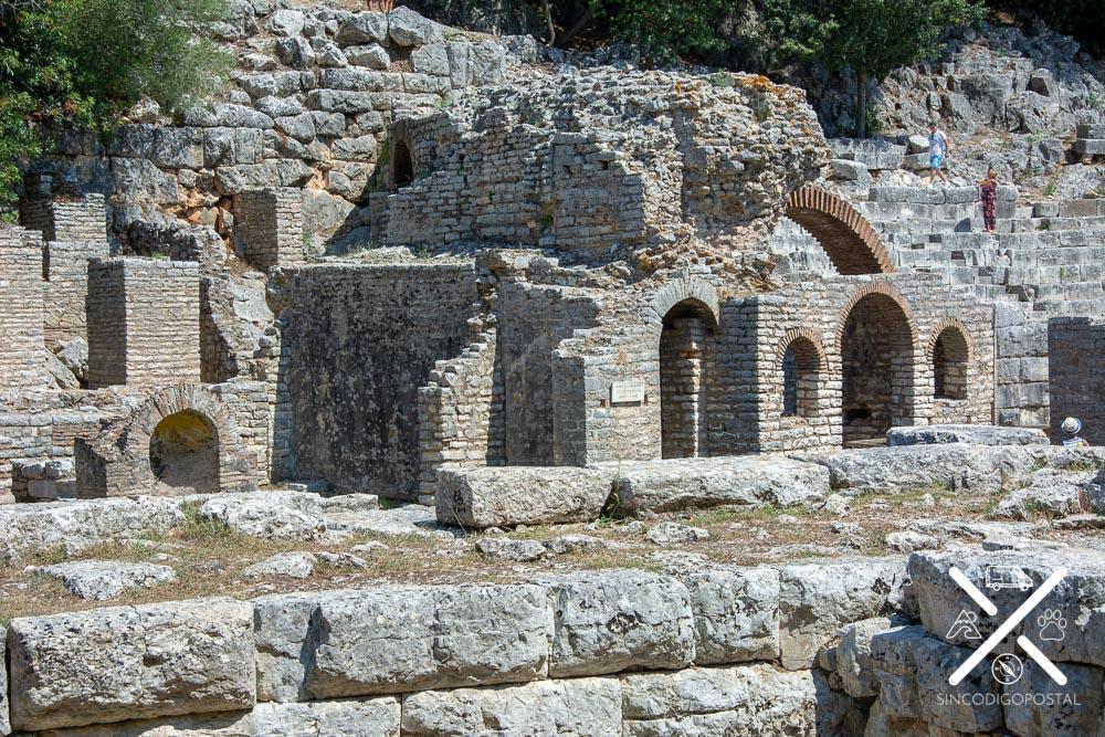 Dios Asceplio en Butrinto