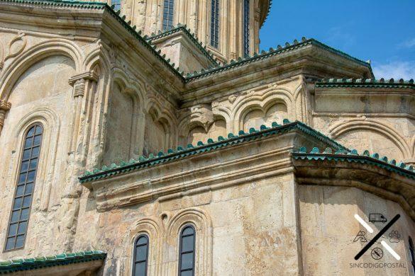 Fachada del Monasterio de Gelati