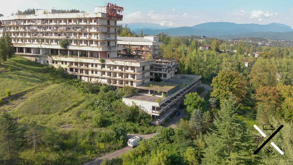 Hotel abandonado que visitamos