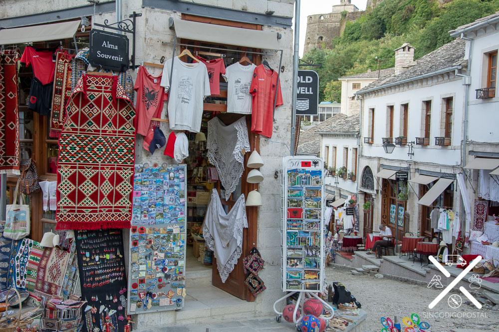 Mercado otomano en Gjirokastra