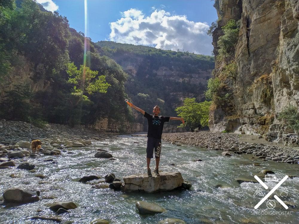 Naturaleza en el Cañón de Osumi Albania