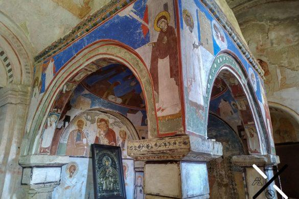 Pequeña capilla para uno de los patriarcas ortodoxos