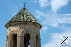 Tejados preciosos del Monasterio de Gelati