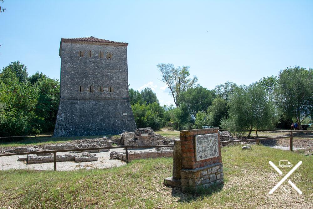 Torre Venecia en Butrinto