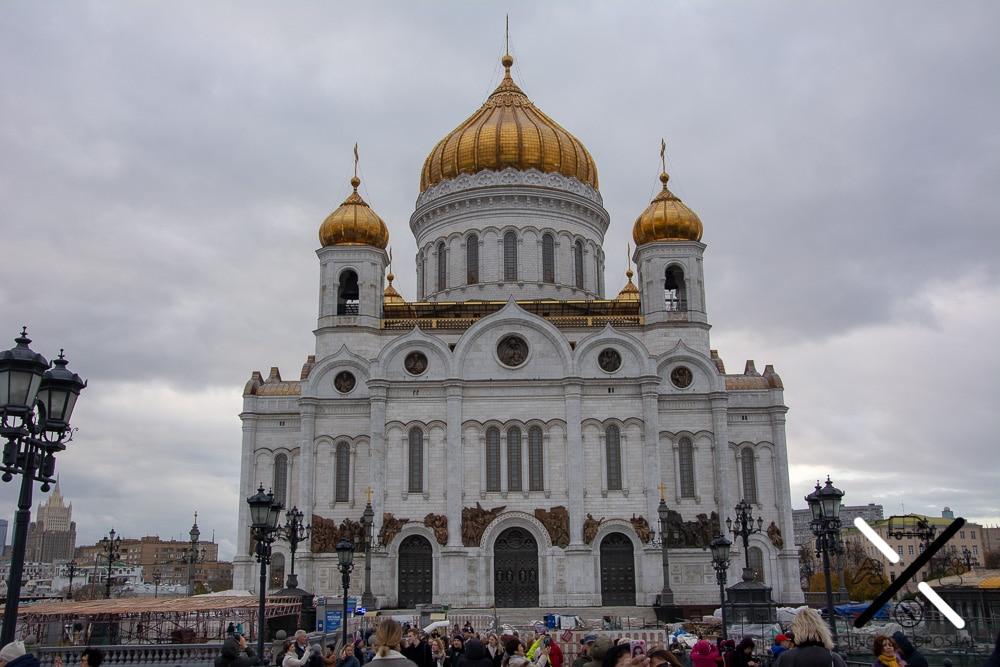 Catedral del Cristo Salvador en Moscú
