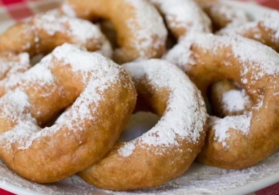 Donuts de requesón típicos en Rusia, moskovskie pónchiki