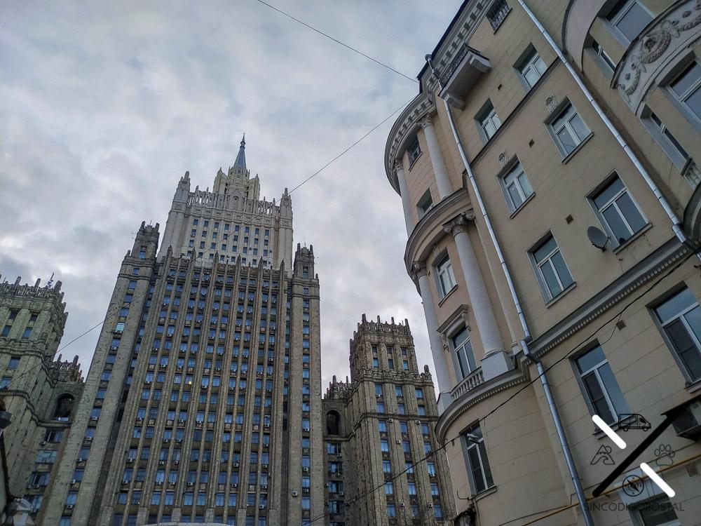 Edificio de relaciones exteriores