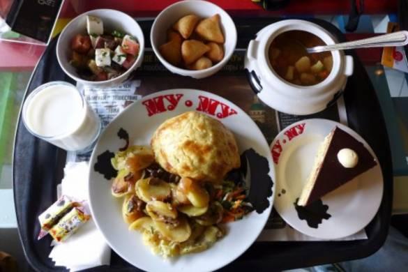 El restaurante Mu-Mu dispone de menús