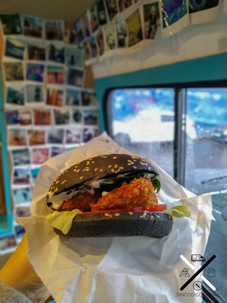 Hamburguesa vegana en San Petesburgo