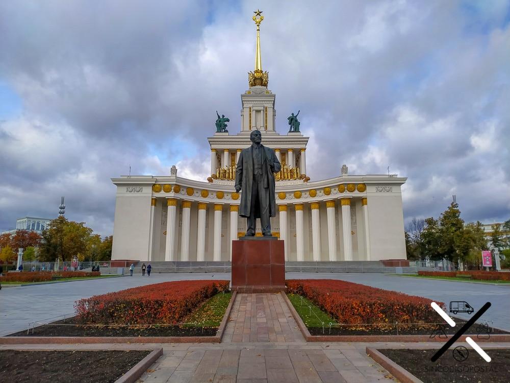 Monumento a Lenin en el Parque VDNH