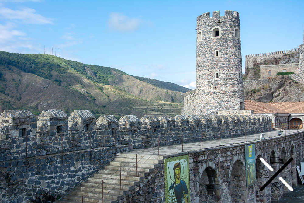 Murallas del Castillo de Rabati