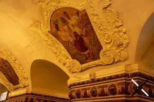 Obras de arte situada en las partes más altas del metro de Moscú