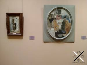 Picasso dentro del Museo del Hermitage