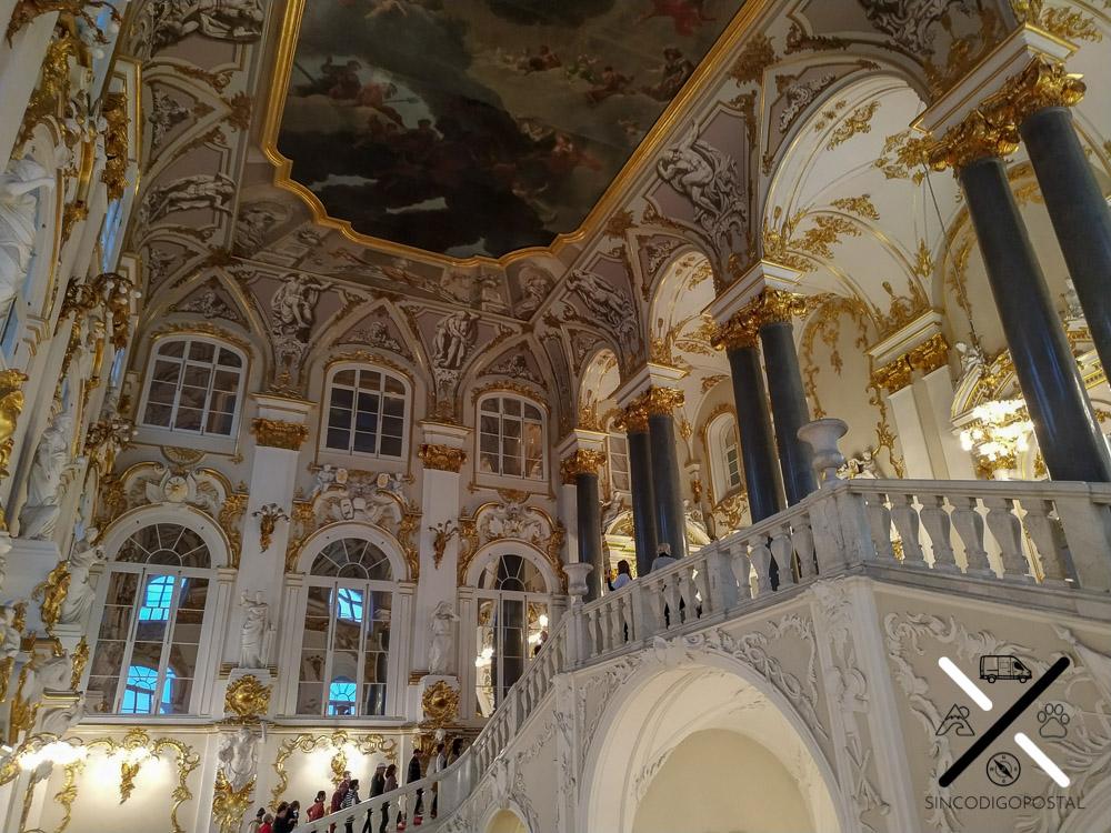 Salón de los zares del Palacio de Invierno