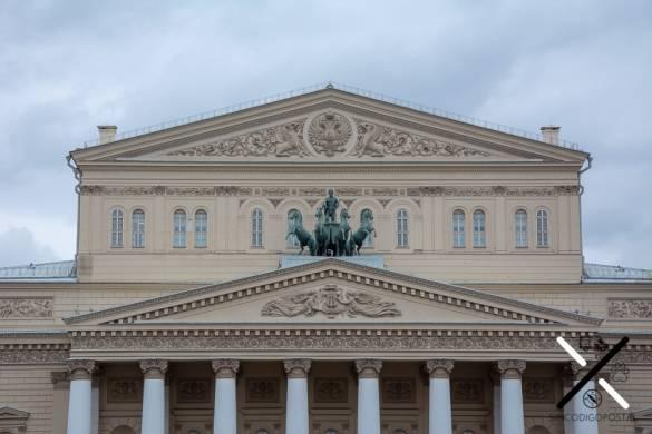 Teatro Bolshói en Moscú