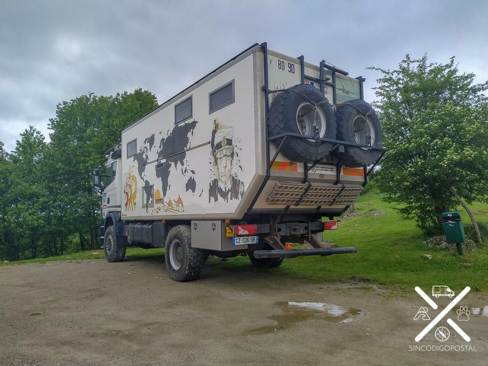 Camión del Dakar Off Road